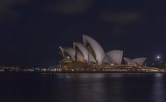 Explore Australia- Sydney Opera House (yuanxizhou) Tags: beautiful landscape amazing building longexposure light sky operahouse sydney nights famous architecture