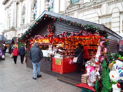Belfast Christmas Market December 2017 (11) (sean and nina) Tags: belfast christmas market december 2017 north northern ireland irish ulster city hall centre stalls traders good vendors food drink meals trinkets gifts clothes merchandise tourist people persons outside outdoors candid public crowds pavement items decorations presents cold winter cool early morning frosty sweets eu europe european world international visitors