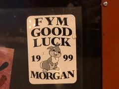 MORGAN (billy craven) Tags: chicago graffiti stickergame nswb kym fym morgan