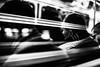 Metro 164.365 (ewitsoe) Tags: metro underground window sunday reflection fast speed canon eos6dii 50mm cityscape city transit warsaw monochrome man sitting pasenger urban stripes bnw blackandwhite trams poland 365 164