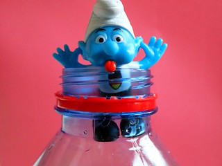 MM  Smurf ...... in a bottle  HMM !