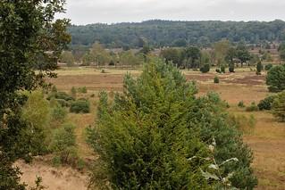 Panorama over het dal van de Wümme en de Haverbeeke. -2 links