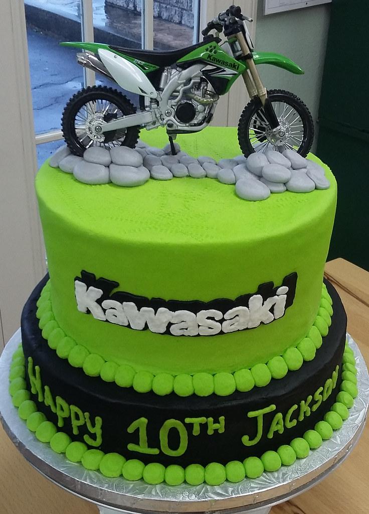 Dirtbike Backhomebakerytx Tags Kids Birthday Cake Dirt Bike 10th Two Tier Cool Backhomebakery