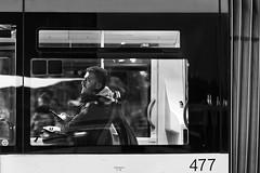 Sguardo...penetrante (carlo tardani) Tags: venezia venice piazzaleroma bus bw bianconero blackandwhitephotos nikond4 bestportraitsaoi