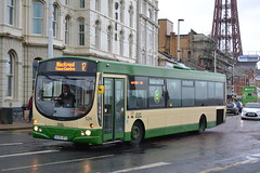Blackpool Transport 524 AU06BPO (Will Swain) Tags: blackpool 7th october 2017 north west lancs lancaster bus buses transport travel uk britain vehicle vehicles county country england english 524 au06bpo