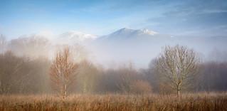 Skiddaw in mist