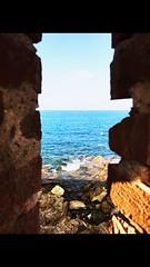 CAP D'ANTIBES (heiva06) Tags: mer méditerranée antibes capdantibes ruines cotedazur bleu paisible tranquillité blue azur landscape paysage