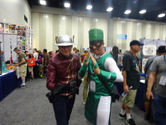 The Speedster and the Inhuman (Sconderson Cosplay) Tags: comic con san diego sdcc 2016 flash jay garrick hunter zolomon earth2 cosplay karnak inhumans