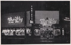 Thrifty Drugs Burbank Calif. - Sign by Electrical Products Corp. 1946 (hmdavid) Tags: vintage photo thrifty drugs drug store burbank california electricalproductscorporation 1940s 1946 signsofthetimes magazine roadside advertising neon sign