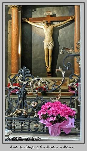 Inside the Abbazia di San Benedetto in Polirone  11