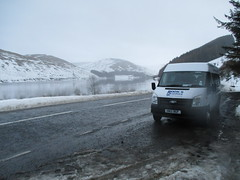 Loch of the Lowes (cessna152towser) Tags: fordtransit minibus cooks