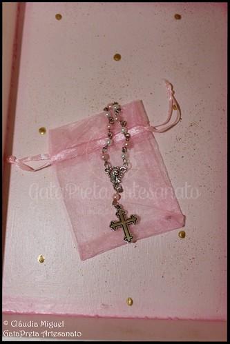 """Caixa grande batizado """"Flower Fairy"""""""