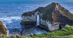 Chalk and the North Sea (keithhull) Tags: flamborough cliffs chalk eastyorkshire landscape northsea