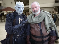 The Night King and Ser Davos (greyloch) Tags: dragoncon cosplay costumes nightking serdavos 2017 tvcharactercostume tvcharacter gameofthrones sony dsctx30 niksoftware photoshop fantasy