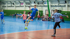 BK46 - Dicken (AP) (aixcracker) Tags: handball handboll käsipallo handis nikond3 iso3200 nikon afs 70200mm f28 sport sports urheilu team lag joukkue karis karjaa raseborg raasepori suomi finland lauttasaari drumsö helsinki helsingfors