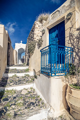 Pyrgos,Santorini (Vagelis Pikoulas) Tags: pyrgos santorini thira island cyclades kyklades travel winter greece europe january 2018 landscape tokina canon 6d