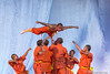 Shaolin Monastery (China) monks exhibition: Suspended only by three spears (Joao de Barros) Tags: barros joão chinese monk shaolin chinesenewyear2018 martialarts performer