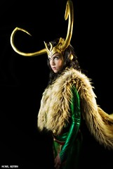 Ready To Rule... (Ring of Fire Hot Sauce 1) Tags: cosplay ladyloki toriacostuminganddesign sandiegocomiccon sdcc portrait glamour