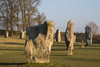 Avebury Stone Circle, Wiltshire (baldychops) Tags: avebury wiltshire stone stones circle stonecircle standingstones outdoor winter cold chilly clear history historic old ancient icon iconic visit nationaltrust