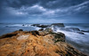 Dusk (robert demeter) Tags: isumi isumishi japan dusk longexposure landscape light lee filter ndfilter silkywater seascape sea seacoast seascpe water reflection rocks rain rock