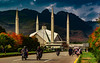God's Light (Mansoor Bashir) Tags: islamabad islamabadcapitalterritory pakistan pk architecture mosque mountains hills monument himalayas road cityscape landscape skyline urban infrastructure autumn spring trees nature canon 6d