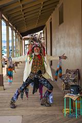 Jumpin Jack Flash (Wayne Stadler Photography) Tags: 2018 streetmusician ghosttown entertainer streetentertainer towns oldwest western touriststop southwest ghosttowns tombstone jester eccentric arizona usa smiles historic touristkitsch