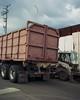 Streetscape vertical (ADMurr) Tags: la eastside industrial truck lot clouds mamiya 7 kodak portra mf 6x7 daa112edit