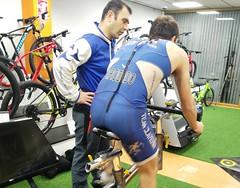 Iván Rodado triatlón Indoor team clavería triatlón World 3
