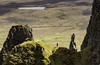Insignificant (cliveg004) Tags: quiraing skye isleofskye scotland landslip smallpersoninabigworld landscape rocks highlands wilderness nikopn d5200