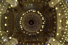 Muhammad Ali mosque central dome (T Ξ Ξ J Ξ) Tags: egypt cairo fujifilm xt2 teeje samyang8mmf28 citadel old town salahaldin medieval mokattam muhammadali unesco