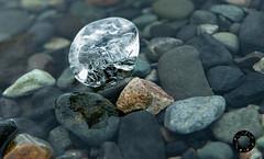 Island 24 (Andreas Stamm) Tags: iceland island jökulsárlón stone stein wasser water ice eis