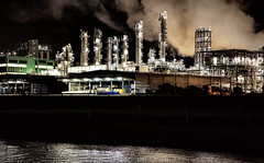 Stranger Things (WilliamND4) Tags: industrial river night nighttime dark nikond810