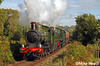 9017 + 7812 - Severn Valley Railway - 10 October  2008 (Mike Heath Photo) Tags: svr severn valley railway bridgnorth kidderminster arley bewdley hampton loade steam locomotive visitor dukedog gwr great western 9017 earl berkeley 440 7812 erlestoke manor 7800 class 460