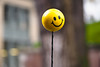 Have A Happy Day! (Orbmiser) Tags: olympus40150mmf4056r 43rds em1 mirrorless omd olympus ore portland antenna ball smileyface