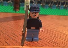 Union Soldier (Brendan Helms) Tags: minifig minifigure model battle billyyank yankee northern north infantry military history war civilwar americancivilwar unitedstates union lego