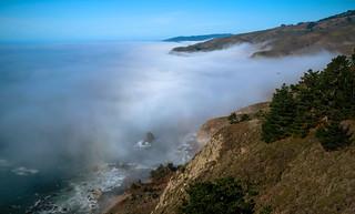 Fog at the Marin Coastline