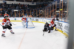 """Kansas City Mavericks vs. Cincinnati Cyclones, February 2, 2018, Silverstein Eye Centers Arena, Independence, Missouri.  Photo: © John Howe / Howe Creative Photography, all rights reserved 2018. • <a style=""""font-size:0.8em;"""" href=""""http://www.flickr.com/photos/134016632@N02/39219887345/"""" target=""""_blank"""">View on Flickr</a>"""