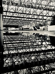 Reflections of a Winter's Day (Explore) (sjpowermac) Tags: reflections winter scaffolding roof puddle pendolino carlisle 1m14 water passenger