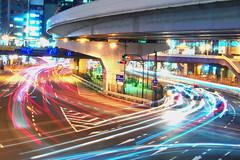 Put Your Lights On (runslikethewind83) Tags: light street night tokyo ueno city urban traffic cars color road 東京 上野 日本 japan 光