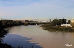 Rio Ebro.   Zaragoza. (blanferblanc) Tags: ebro zaragoza canon