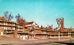 Pony Pass Motel, Klamath Falls, Oregon (Thomas Hawk) Tags: america klamathfalls oregon ponypassmotel usa unitedstates unitedstatesofamerica vintage motel neon neonsign postcard fav10