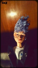 Swag (Seiji-Univers) Tags: seiji seijiunivers mileli yuki catfish princess french artist art snap snapchat cute punk cyberpunk tan bluewig blue wig photomaton instadoll insta girl swag rock filter fun poupée doll bjd balljointeddoll kawaii toys