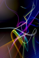 Abstract 7 (pixquik) Tags: colors paintingwithlight abstract longexpopsure
