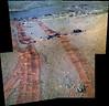 5000 Days of Tracks on Mars (sjrankin) Tags: 20february2018 edited nasa mars rgb colorized opportunity bands257 tracks wheeltracks sand dust panorama endeavourcrater