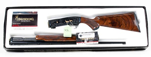 Browning Model 42 Grade 5 410 ga. Gun w/ Box ($1,568.00)