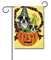 Halloween-Jack-O-Lantern-Boston-Terrier-Garden-Flag-510x600 (Precious Bostons) Tags: boston terrier garden flags