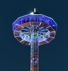 NL - Van der Beek - Dauphin >View Tower< Cranger Kirmes 2017 (BonsaiTruck) Tags: beek dauphin view tower viewtower kirmes herne crange fairground aussichtsturm plattform karussell fairgropund
