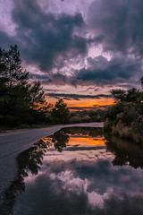 After the rain (Vagelis Pikoulas) Tags: rain rainy afternoon porto germeno greece reflection reflections canon 6d europe travel sun sunset clouds cloudy cloud colour sky skyscape view road landscape tokina 1628mm