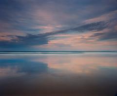 Half Light (GrisFroid) Tags: landscape seascape water sea ocean beach clouds reflection mamiya rz67 50mmf45w kodak ektar 100 120 mediumformat film