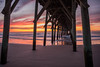 Topsail Pier Sunrise (gotta_ketcham_all) Tags: sunrise pier water color ocean colorful clouds beaut nature wild